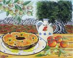 Scorci di Puglia 3 - Olio su tela - 24 x 30 cm -   2013  (opera disponibile)