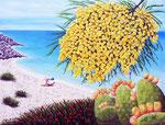 Aria di primavera sul mare di Taranto - Olio su tela - 60 x 80 - 2014