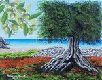 Scorci di Puglia 2 - Olio su tela - 24 x 30 cm - 2013  (opera disponibile)