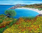 Baia mediterranea - Olio su tela - 40 x 50 cm - 2007 - ( collezione privata )