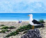 Guardiano silente - Olio su tela - 40 x 50 cm - 2011  (opera disponibile)