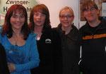 Diana Eichhorn (VOX) und unsere Trainerinnen auf der Messe Hund&Heimtier 2010