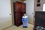 滋賀県守山市より修理依頼の帳場箪笥を納品してきました。