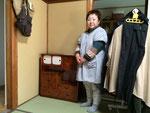 大垣市より修理依頼の茶箪笥を納品して来ました。