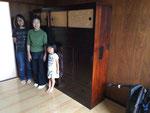 岐阜市に修理依頼の黒檀タンス納品