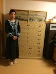 名古屋市に修理依頼の桐たんす納品