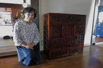 郡上市より修理依頼の帳場箪笥を納品してきました。
