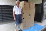 各務原市より修理依頼の桐タンスを納品して来ました。