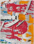 Villeglé Jacques, Décentralisation n°1, 1991, 65 x 50 cm. Sérigraphie ©ADAGP, Paris 2011