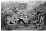 Boubat Edouard, Village indien, 1955, 40 x 30 cm. Photographie
