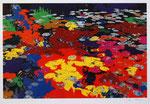Lemée Jean-Philippe, Peinture sur le motif, 2001, 50 x 46 cm. Impression numérique sur papier photo