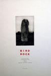 Fulton Hamish, Bird rock, 1987, 23 x 15 cm sur 63 x 43 cm. Eau forte et burin