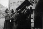 1942-й. Німці біля поштамту.