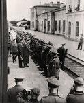 1942 рік. Німці на залізничному вокзалі.
