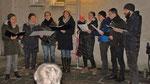 "Dritter Advent Samstag, a-capella Chor ""Halbkreis"""