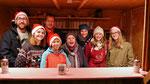 Punschütten-Team am ersten Adventsamstag