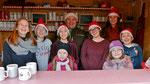Punschütten-Team am vierten Adventsonntag (Ministranten)