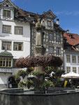 Mittwoch: Rundgang durch die Altstadt von St.Gallen (1 von 2).