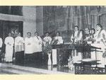 Amtseinführung von Pfarrer Marcel Lootens durch Bischofsvikar Zeininger, 1977