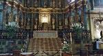 Freitag: St.Jean de Luz, Kirche St. Jean Baptiste (wo die Hochzeit Ludwig XIV mit der spanische Infantin Maria Theresia stattfand)