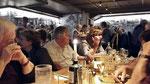 Montag: Dinner am letzten Abend in einem Restaurant in Dublin.
