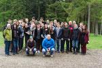 Montag vormittags: Abschluss Gruppenfoto - schön war's
