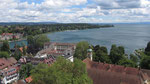 Freitag: Blick auf den Bodensee in Konstanz.