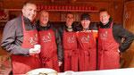 Punschhütten Team am dritten Adventsamstag