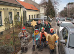 5.Jänner - Erste Gruppen am Weg auf den Wilhelminenberg