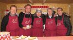 Zweiter Advent Samstag, Punschhütten Team