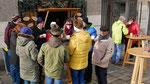 Punschhütte am ersten Adventsonntag