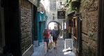 Samstag: Spaziergang durch die romantsicshen engen Gassen von Kilkenny.