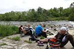 """Lob am Fluss zum Thema """"Was uns der Fluss und die Seligpreisungen lehren"""""""
