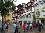 Freitag: Rundgang durch die malerische Altstadt von Meersburg.
