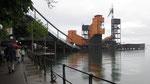 Dienstag: Die Bodensee Festspielbühne in Bregenz