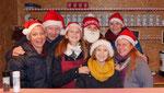Punschhütten Team am ersten Adventsamstag