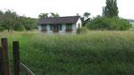 Samstag: Schnappschuss von einem kleinen Haus bei Birnau.