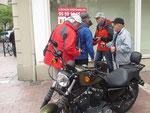 Samstag: Pau, Herrentreff beim Stadtspaziergang