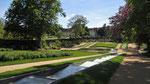 Dienstag: Chateaux Milande, Gartenanlage im Grundstück von Josephine Baker's Wohnsitz