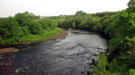 """Freitag: Der Sneem Fluss auf der Halbinsel """"Iveragh""""."""