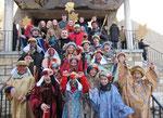 Dienstag 6.Jänner, Gruppenfoto nach der Sternsingermesse
