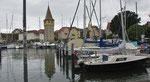 Donnerstag: Spaziergang am Hafen in Lindau (2 von 3).
