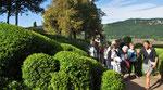 Dienstag: Hängende Gärten von Marqueyssac im Dordogne Tal (1 von 2)