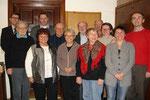 Die Teilnehmer der Glaubensgesprächsrunde im Jänner 2013