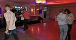 Samstag: Zeit für ein Tänzchen am Abend im Hotel bei Kilkenny.