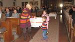 Zweiter Adventsonntag, Thijs aus den Niederlanden schickt ein Paket