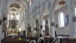 Samstag: Franziskanerkirche in Überlingen.