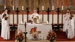 Auferstehungsfeier am Ostersonntag  um 5:00 Früh, Wandlung