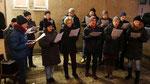 Punschhütte am ersten Adventsamstag mit dem Quo-Vadis Chor