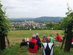 Kurz vor Klosterneuburg